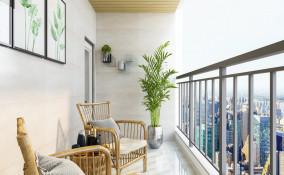 arredare un balcone, spazi stretti, balconi lunghi
