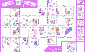 cubi puzzle fai da te da stampare, cubi puzzle fai da te