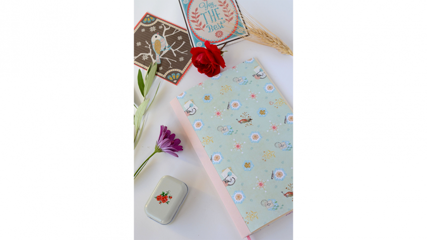Come realizzare un taccuino handmade per la Festa della mamma