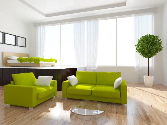 Tendenza Greenery: come arredare casa col colore Pantone 2017