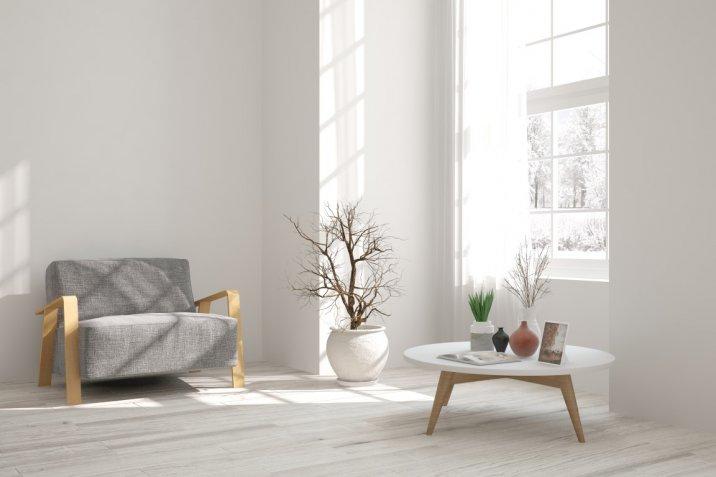 Casa d'inverno: come inserire il bianco nell'arredamento