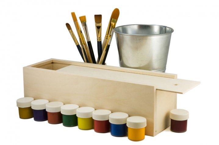Decoupage: gli attrezzi indispensabili da tenere nella valigetta del fai da te