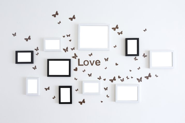 Regali di San Valentino fai da te: la cornice decorata col decoupage
