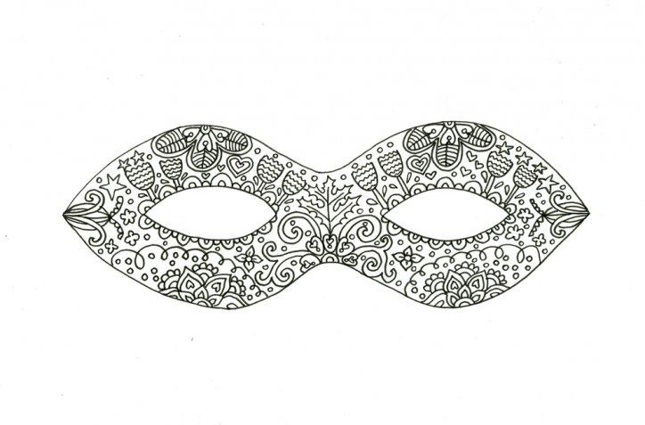 Maschere di Carnevale in cartoncino, come realizzarle in modo veloce
