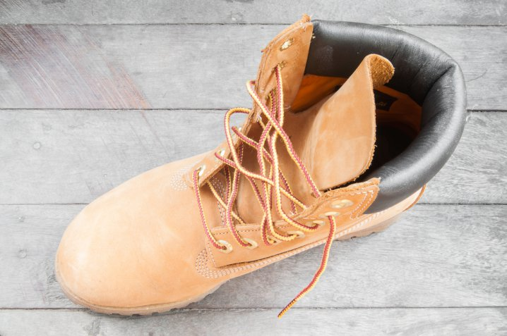 timberland scamosciate