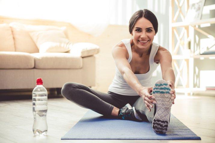 Ginnastica da camera, le 5 attività sportive migliori da fare in casa