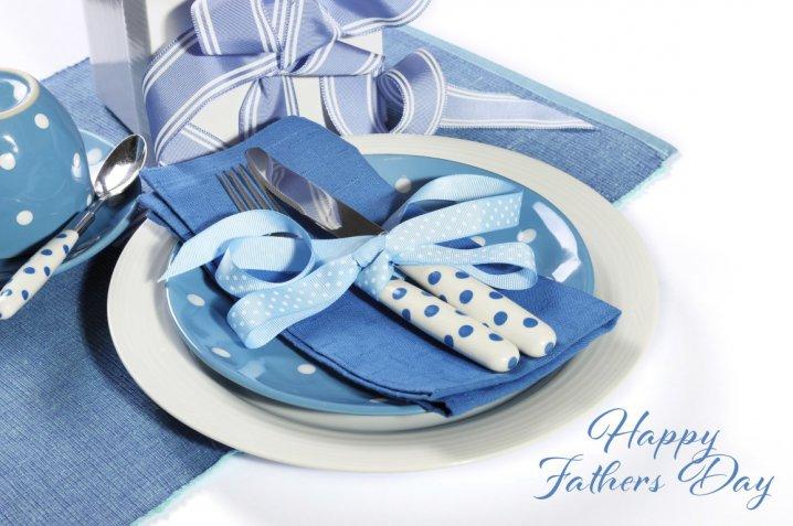 Festa del papà, come decorare la tavola a tema