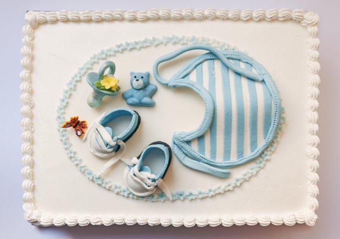 Cake design per la nascita: 5 torte in pasta di zucchero per festeggiare l'arrivo del neonato