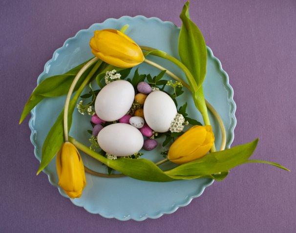 Centrotavola pasquale, 10 idee colorate per ravvivare la tavola