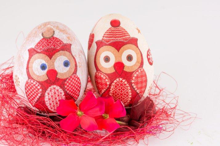 Uova di Pasqua: le decorazioni di decoupage più originali da copiare