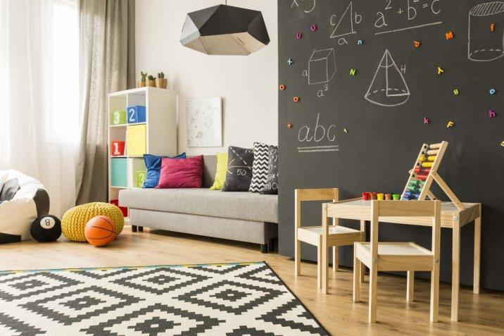 interior design, stanza bambini, decorazioni