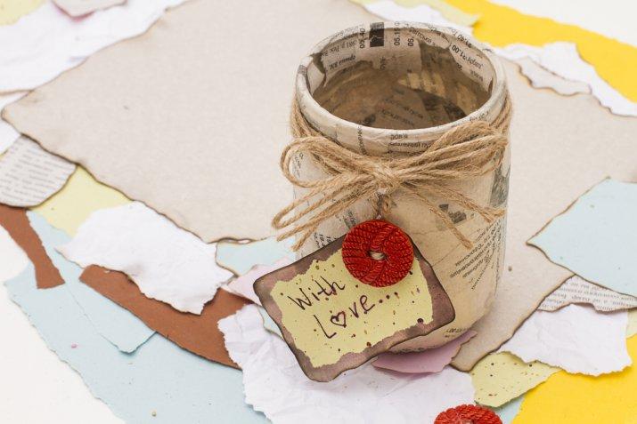 Idee decoupage per la festa della mamma, i 5 lavoretti più dolci