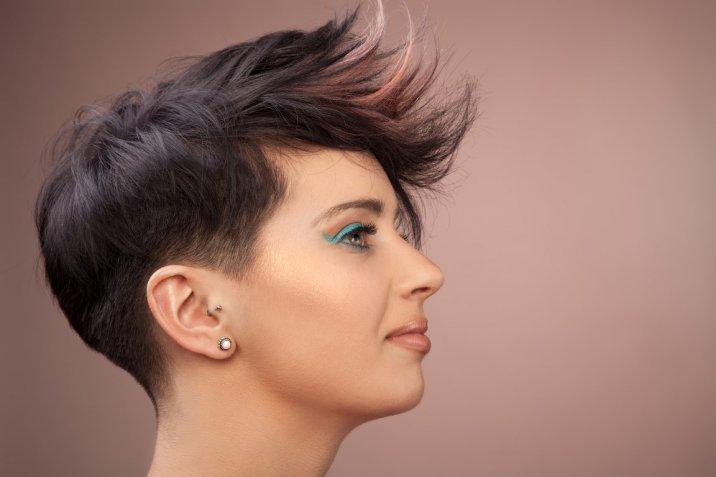 Tagli capelli corti doppio taglio