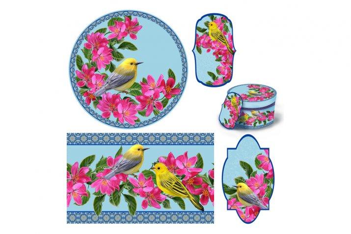 Decoupage per la festa della mamma: 10 fantastiche composizioni per i set decorativi con scatola e vassoio