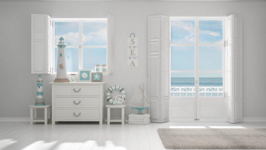 arredamento, interior design, stile mediterraneo