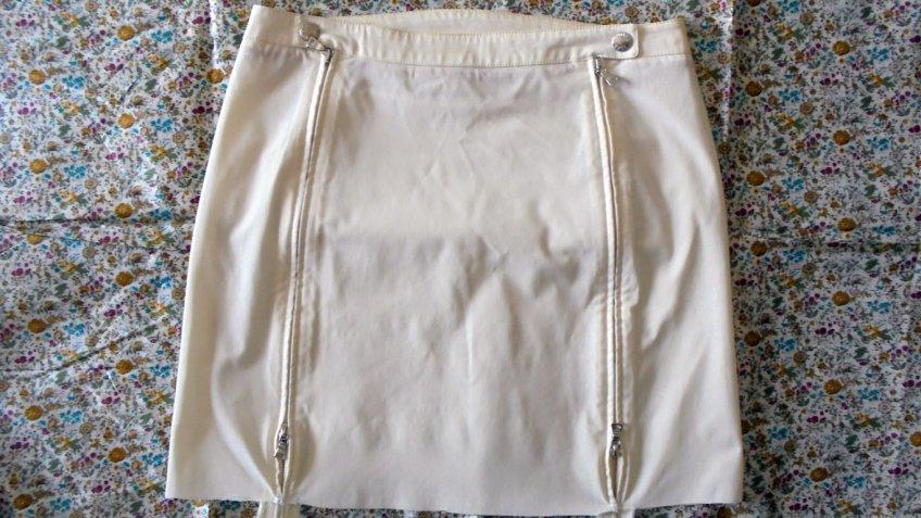 Riciclo creativo gonna, come fare una borsa originale
