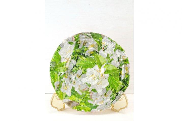 decoupage piatti ceramica, decoupage ceramica tecnica