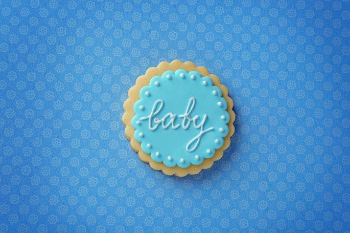 Biscotti per il Battesimo decorati con la pasta di zucchero, 10 idee