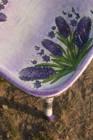recupero sedie vecchie, decoupage sedie