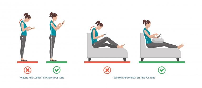 Postura della schiena: movimenti e posizioni da evitare assolutamente