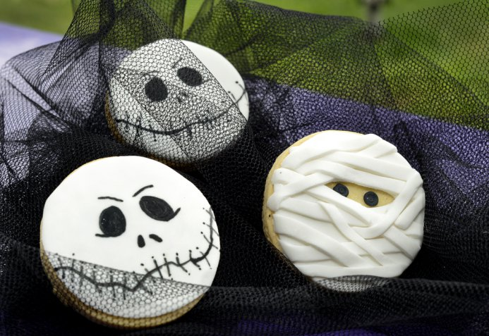 halloween biscotti, biscotti pasta zucchero