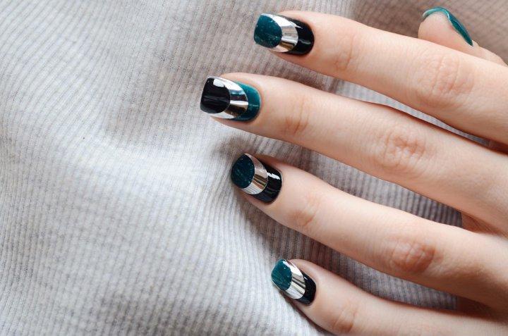 nail art, decorazione unghie, specchio
