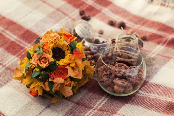 idee per decorare casa autunno, decorazioni autunnali fai da te
