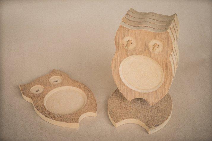 sottobicchieri fai da te legno, legno decoupage, sottobicchieri fai da te mdf
