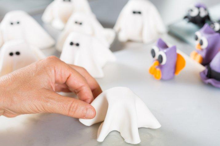 decorazioni pasta di zucchero Halloween