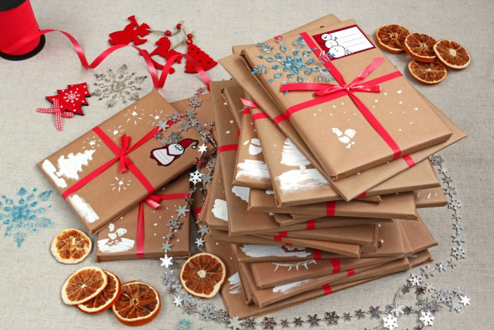 Calendario Avvento fai da te per i bambini, 7 decorazioni originali con carta e cartoncino