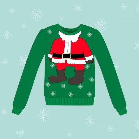 christmas jumper, maglione natalizio
