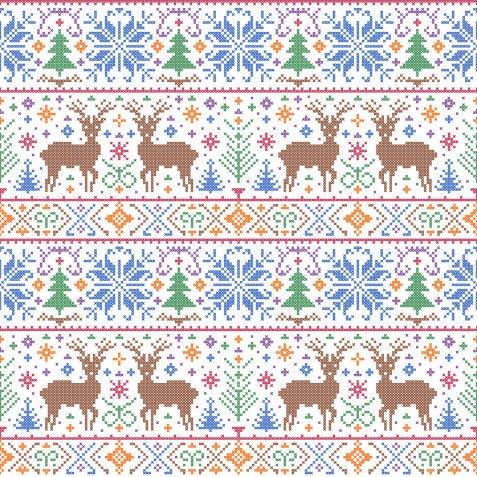 Disegni di Natale a punto a croce, 5 schemi particolari per 5 idee originali