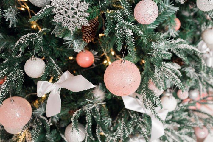 albero di natale 2017 tendenze, albero di natale 2017 colori