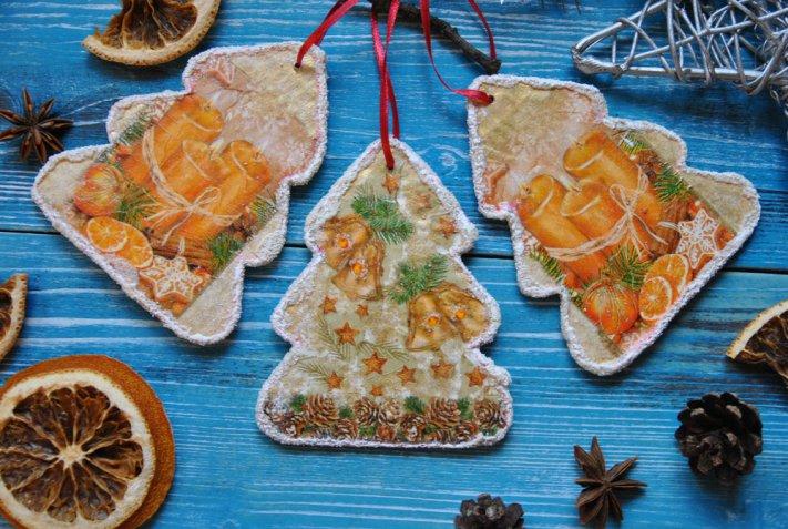 Regali di Natale fai da te con il decoupage su legno