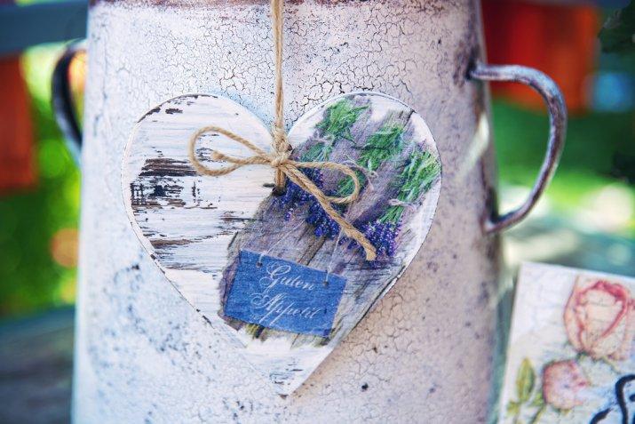 regali natale fai da te, decoupage legno