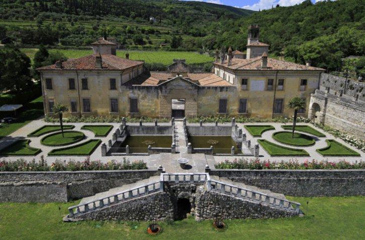 Villa della Torre - Facciata occidentale