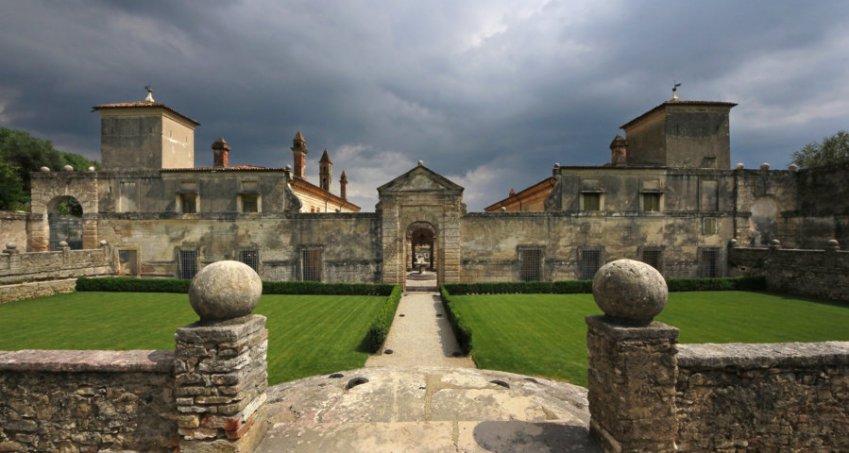 Villa della Torre - Facciata orientale
