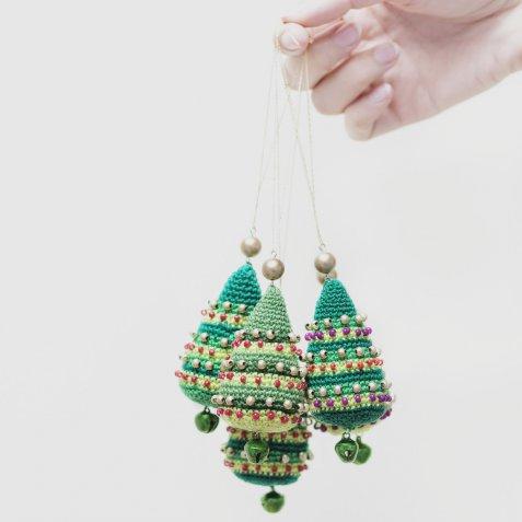 Decorazioni natalizie all'uncinetto, 9 idee per rallegrare la casa