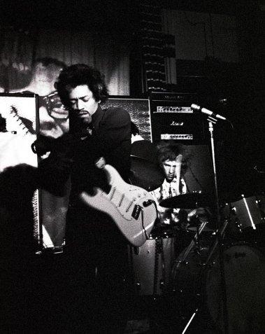 imi Hendrix al Piper di Milano, 1968, Renzo Chiesa  © Renzo Chiesa