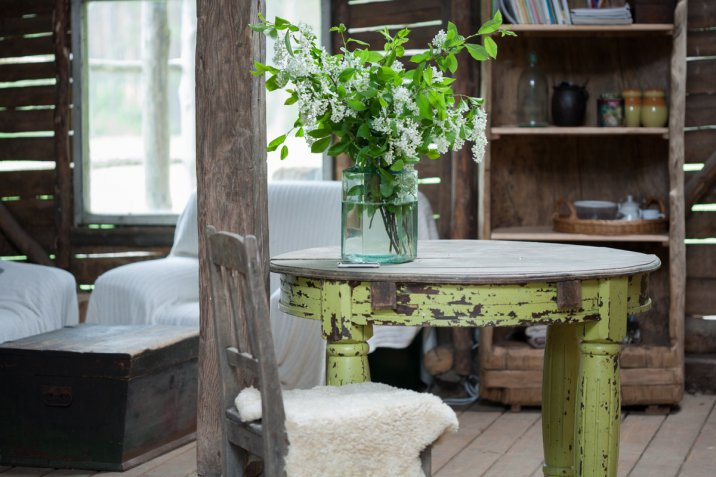 arredamento, interior design, stile country