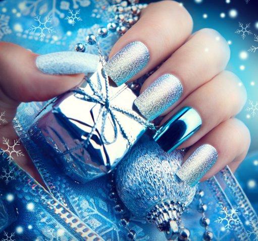 nail art, decorazione unghie, capodanno