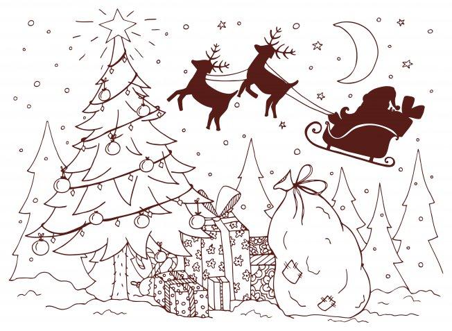 Immagini di Natale da colorare, 9 disegni da scaricare per i bambini e le idee creative per decorarli