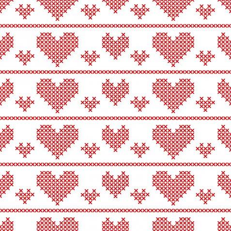 Schemi punto croce sull'amore, 9 disegni per i regali di San Valentino