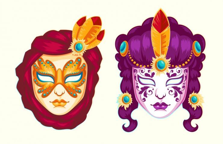 Maschere di Carnevale da stampare e indossare: 5 idee per bambini e adulti