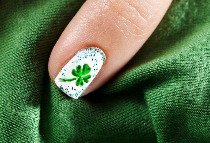 nail art, San Patrizio, unghie