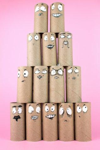 Lavoretti con i rotoli di carta igienica, 7 idee da fare subito