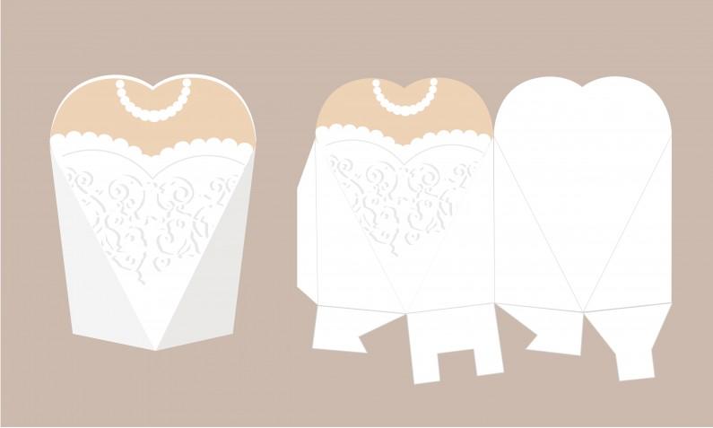 Scatoline portaconfetti matrimonio fai da te, le 7 più belle