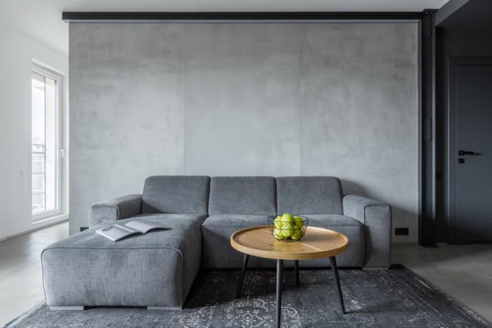 Soggiorno Moderno Grigio E Bianco : Soggiorno moderno in bianco e grigio idee di arredo donnad