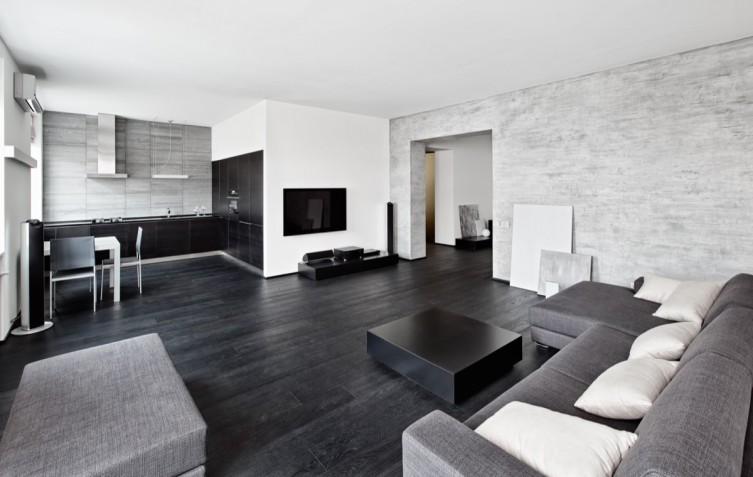 Soggiorno moderno in bianco e grigio: 5 idee di arredo donnad