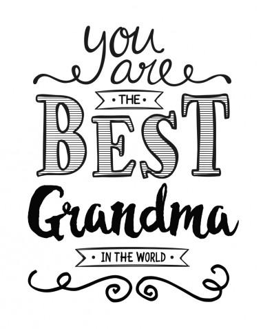 Festa dei nonni 2018: le immagini da colorare più belle per i bambini